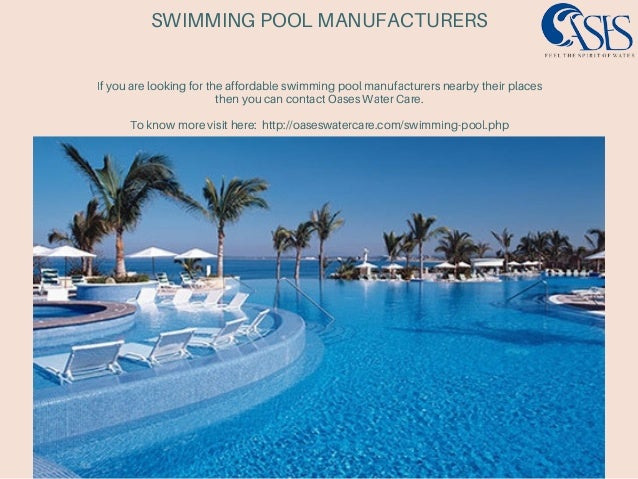 Swimming pool manufacturers for Swimming pool manufacturers