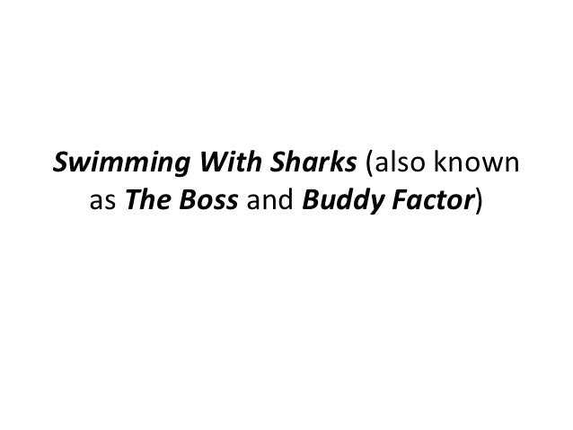 Swimming With Sharks (also known  as The Boss and Buddy Factor)