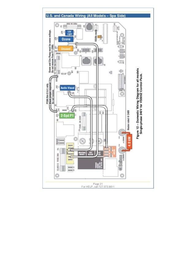 swim spas master spa diagram hl 630 wiring diagram spa #16