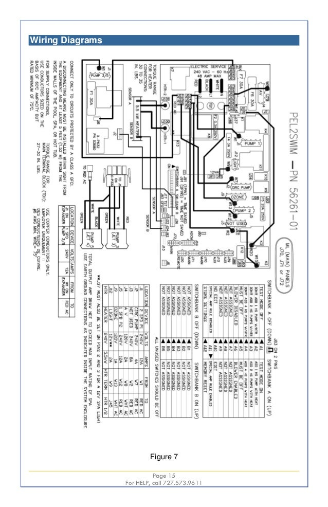 Swim Spa Wiring Diagram - Product Wiring Diagrams •