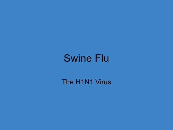 Swine Flu The H1N1 Virus