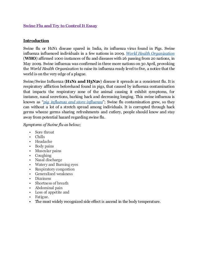swine flu pdf