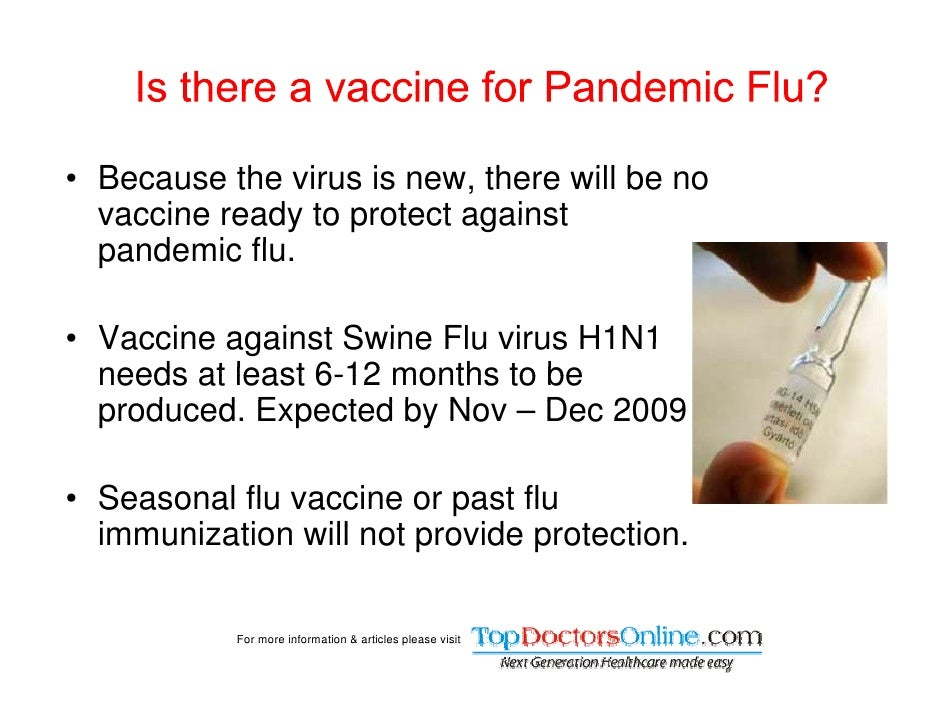 vaccinating against h1 n1 essay The issues of flu vaccines biology essay print illness throughout the world with increased demand for vaccination against the swine flu virus in a.