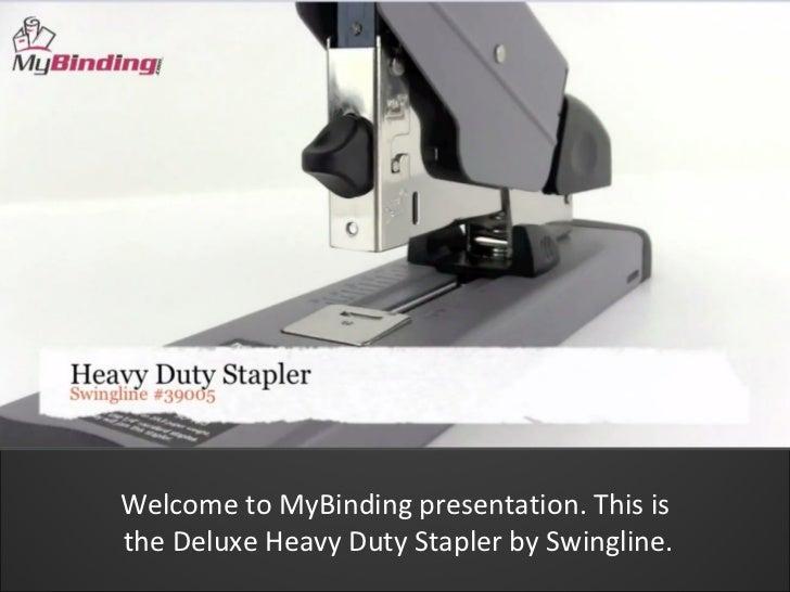 officemax heavy duty stapler instructions