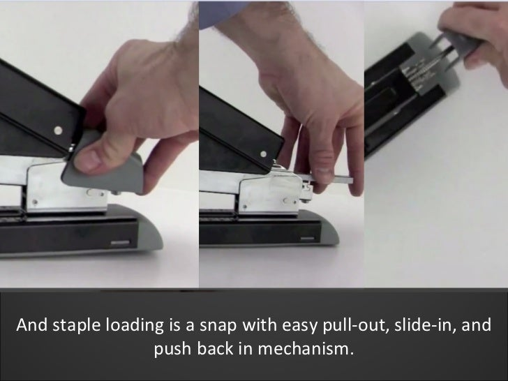 Swingline Durable Heavy Duty Stapler Demo Swi 11302