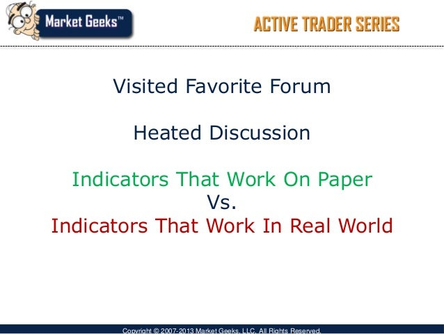 Trading with lagging indicators
