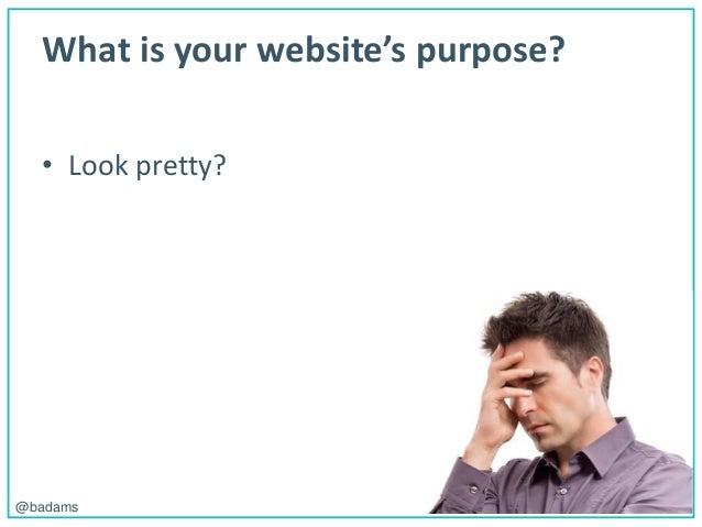 POLEMIC D I G I T A L@badams What is your website's purpose? • Look pretty?