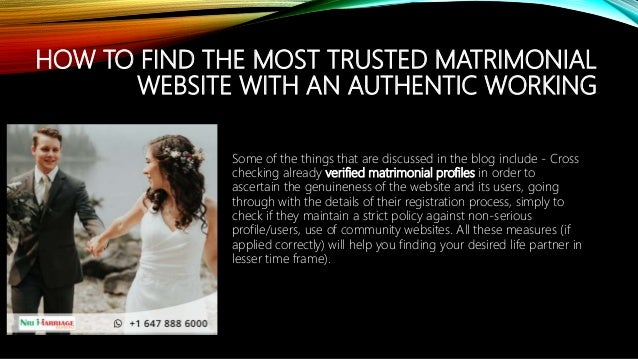 Serious marriage sites