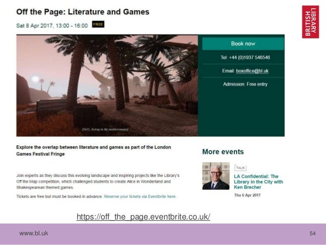 Digital Scholarship at the British Library: Collecting
