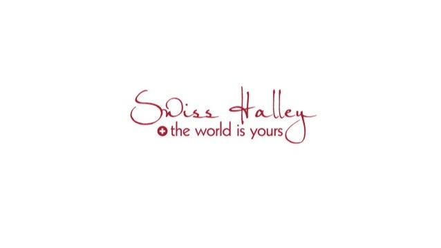 Swiss Halley Geschäftspräsentation