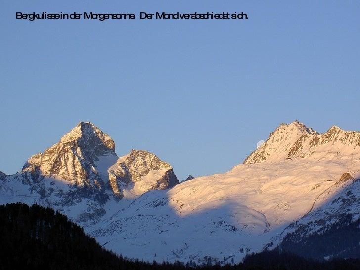 Swiss Mountains Bergwelt Slide 15