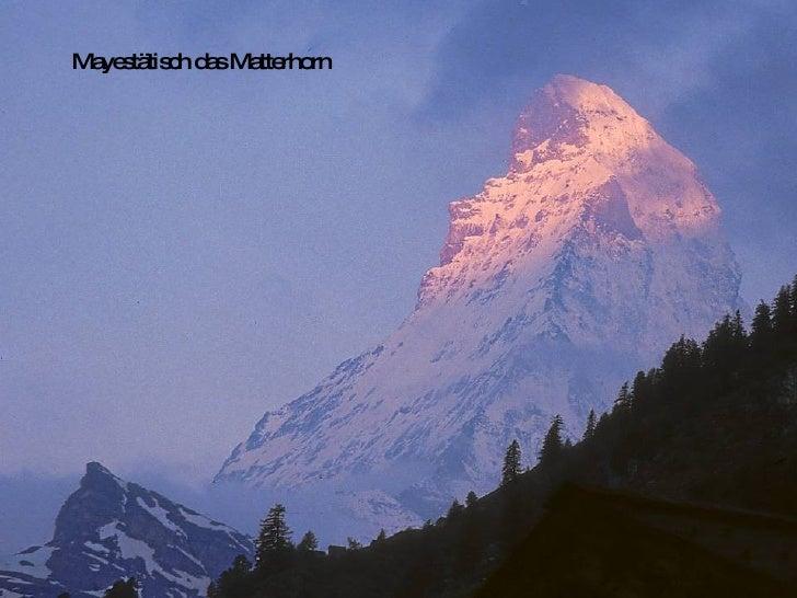 Swiss Mountains Bergwelt Slide 3