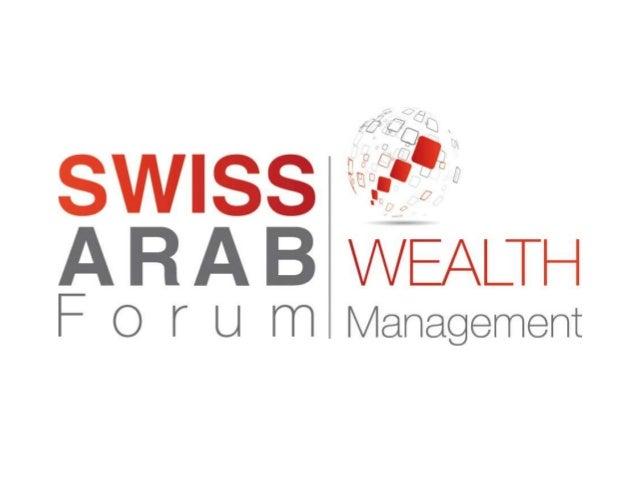 SAWM AT A GLANCE Swiss Arab WealthManagement (SAWM 2013)Forum Overview SAWM 2013 Highlights SAWM 2013Accomplishments P...