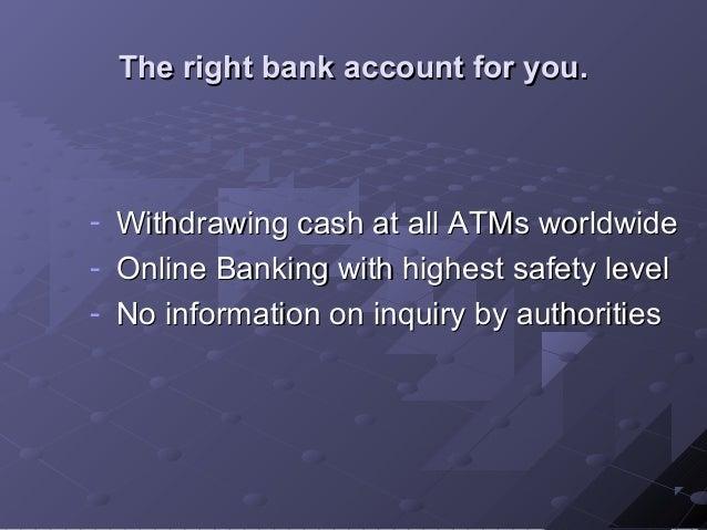 Open an account online
