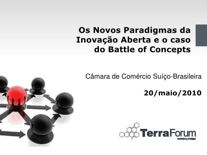 3cf29b49d0c Os Novos Paradigmas da Inovação Aberta e o caso do Battle of Concepts  Câmara de Comércio Suíço ...