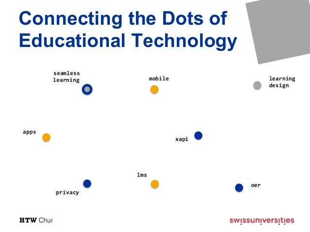 Connecting the Dots of Educational Technology Slide 3