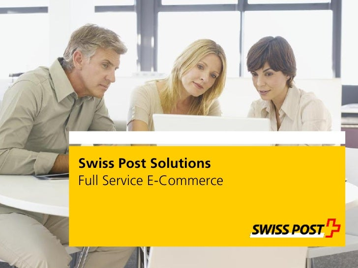 Swiss Post Solutions Full Service E-Commerce