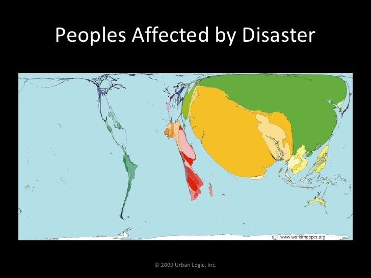 Peoples Affected by Disaster<br />© 2009 Urban Logic, Inc.<br />