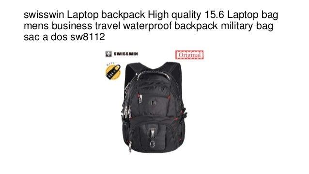 Swisswin Backpack,shoulders,travel /& Business,15.6-inch