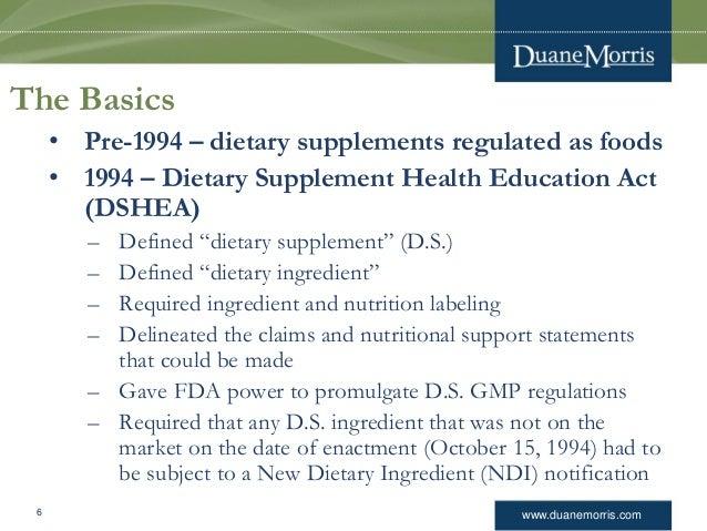 FDA Regulation of Combination Products