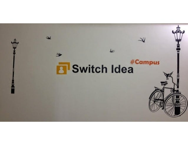 switch idea wall sticker design