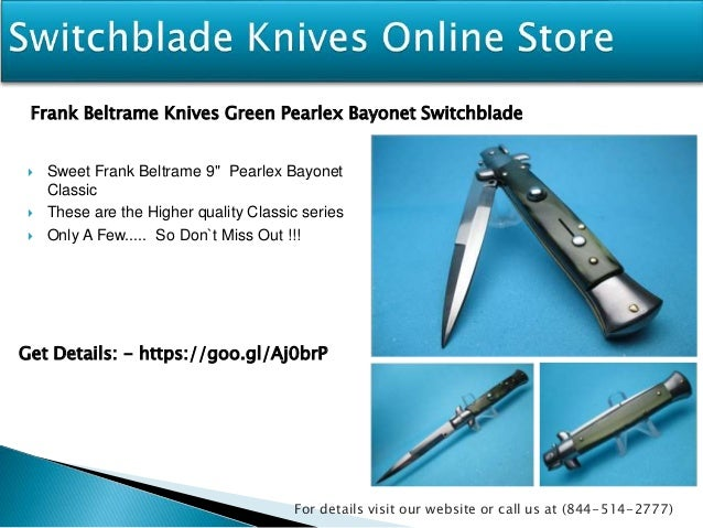 Switchblade knives for sale