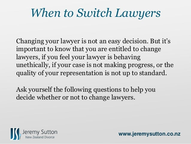 Switching lawyers how to successfully switch lawyers jeremysutton 2 solutioingenieria Image collections