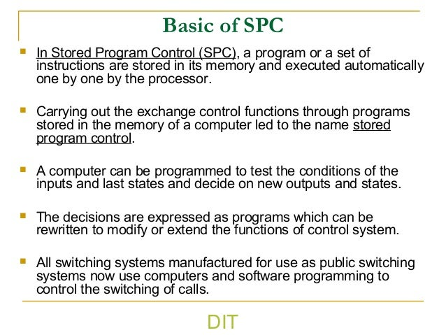 Switching Systems Lecture2