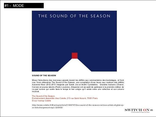 SWITCH ON #9, le carnet de tendances de RED STILETTOS Slide 3