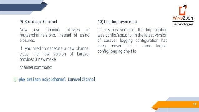 Switch to The New Version of Laravel 5 6