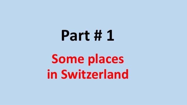 Switzerland Slide 2