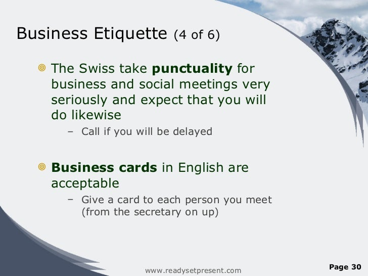 Switzerland powerpoint country business etiquette colourmoves Image collections