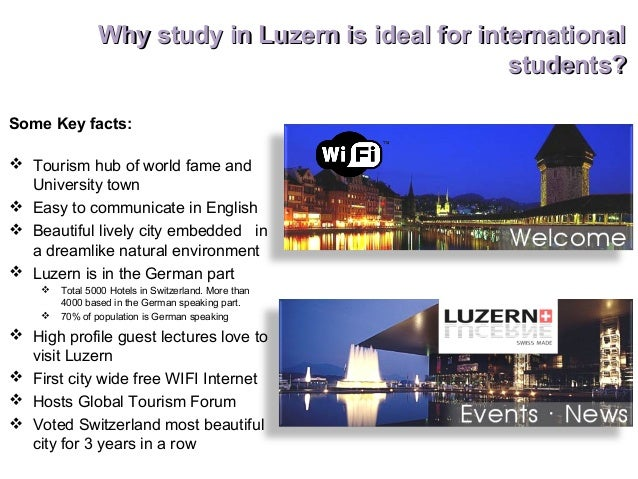 Why study in Switzerland | Why Study Abroad in Switzerland