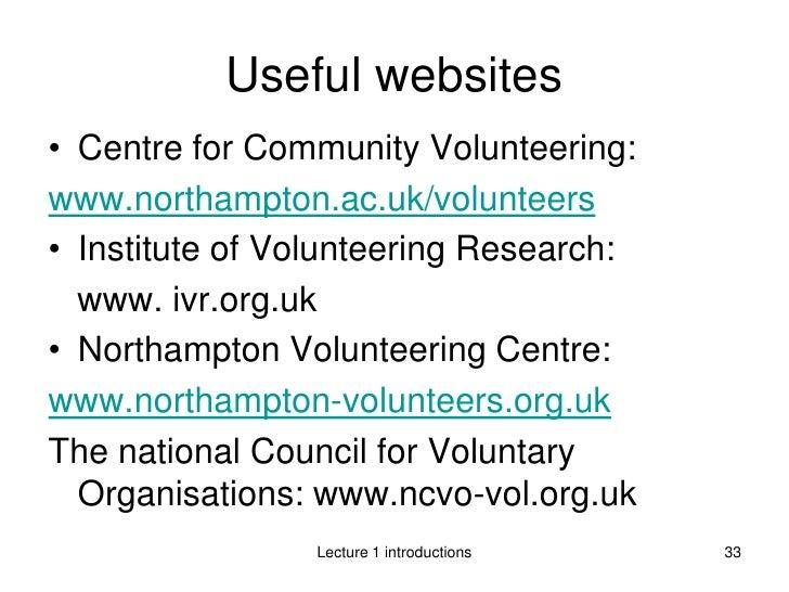 poems about volunteerism