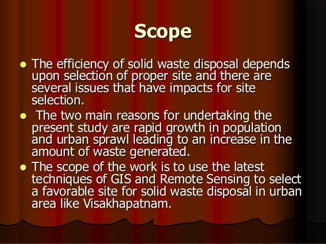 wasteland management ppt