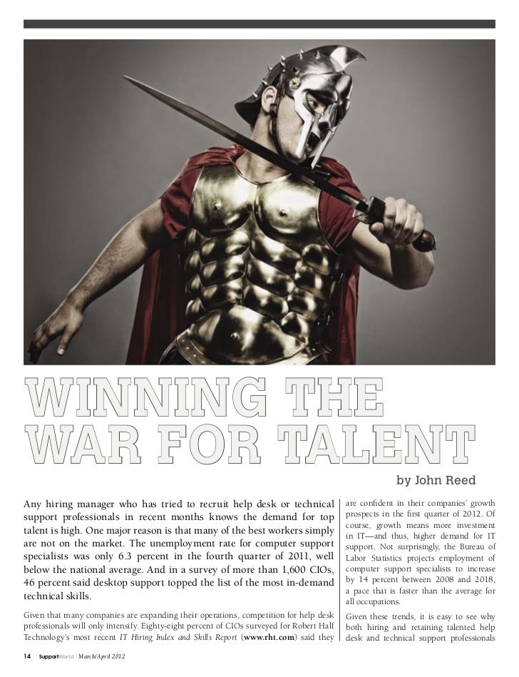 Winning theWar for Talent                                                                                           by Joh...