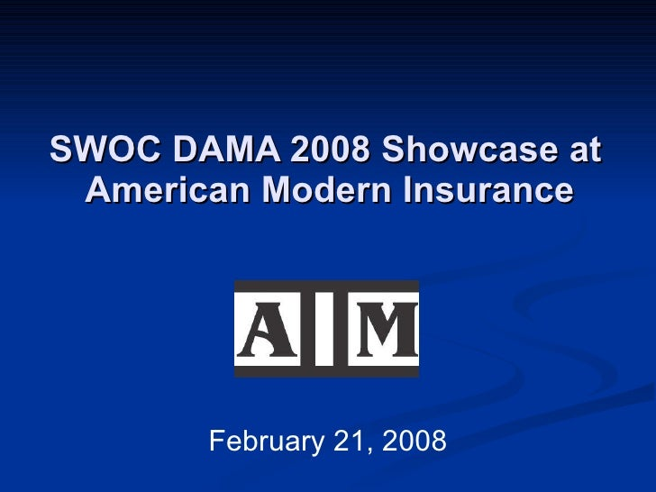 SWOC DAMA 2008 Showcase at  American Modern Insurance February 21, 2008