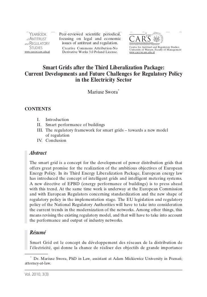 GAEARBOOK E Peer-reviewed legal A periodical, I C L E S Y U  NTITRUST of         focusing T              S on scientific e...