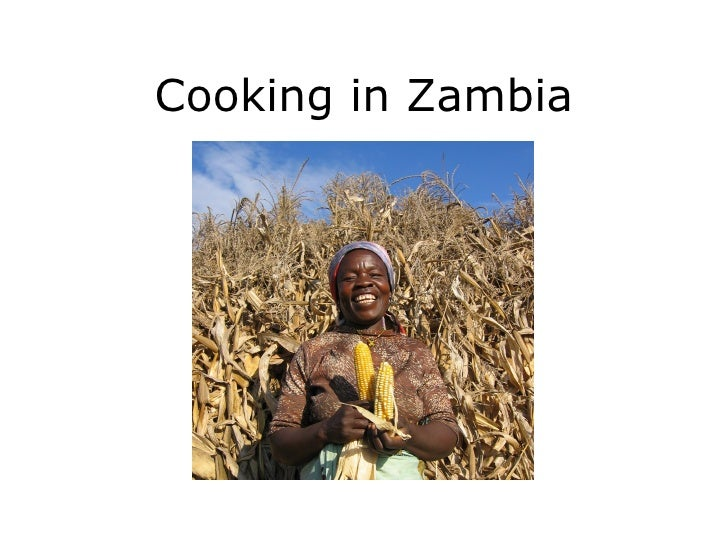 Cooking in Zambia