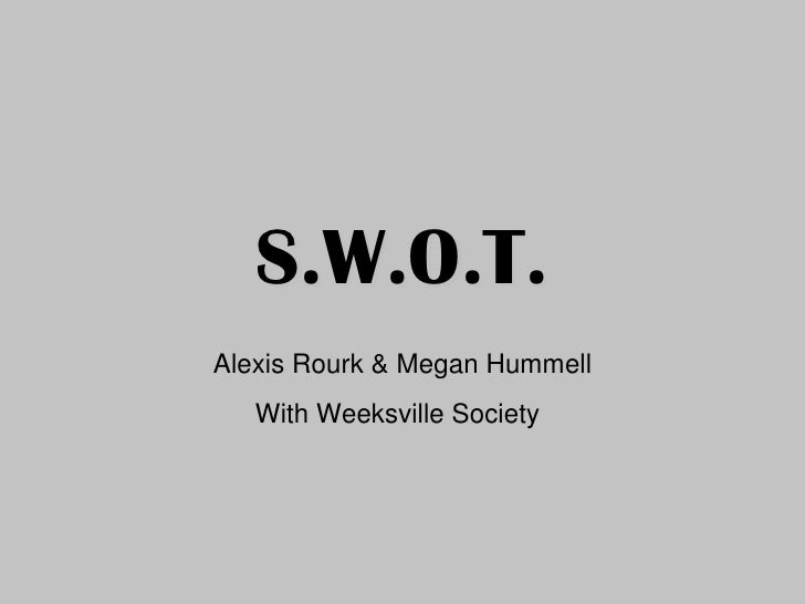 S.W.O.T. Alexis Rourk & Megan Hummell With Weeksville Society