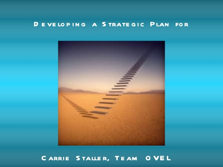 Developing a Strategic Plan for Sustainability:  SWOT Carrie Staller, Team OVEL