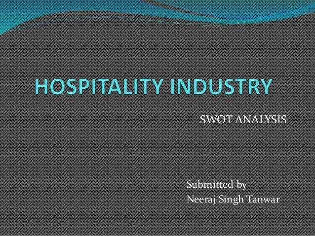 SWOT ANALYSIS  Submitted by  Neeraj Singh Tanwar