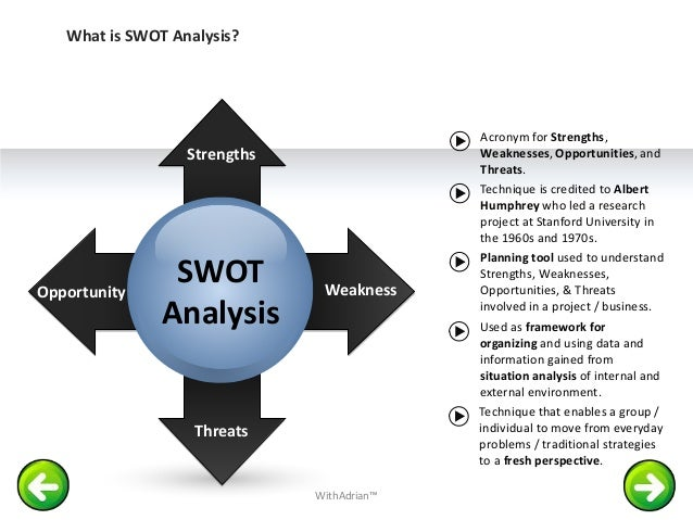 swot analysis for ch2m hill strengths The internal and external environment has been especially dynamic uuhc is  well positioned to build upon its current strengths resulting from a decade of.