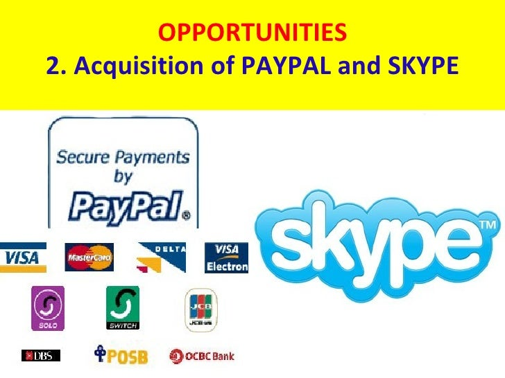 swot analysis of paypal Analysis for global mobile payments market  scope of the global mobile payments market 2016-2020 report  895 swot analysis of paypal holdings inc.