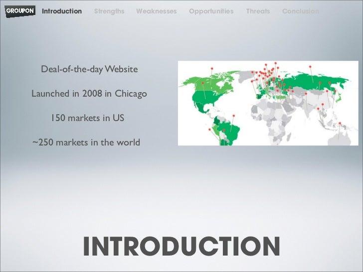 Groupon SWOT Analysis, Competitors & USP