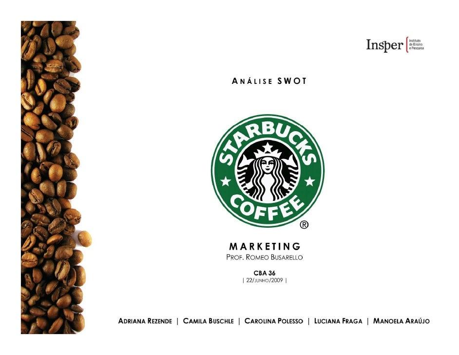 SWOT | Starbucks [Rua Amauri]  FORÇAS                                                             FRAQUEZAS               ...