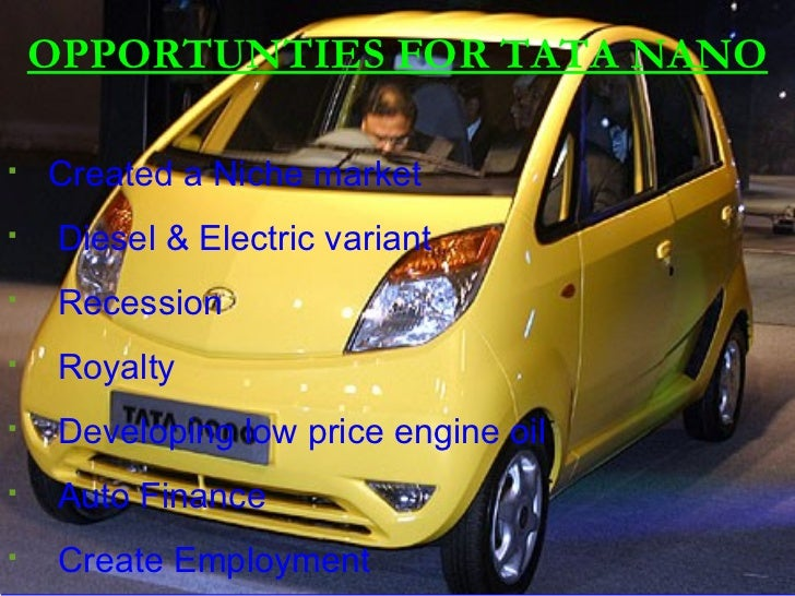 swot of reva cars Strength's eco friendly low cost of ownership cheaper to run cheap good range  and  threat other electric car manufacturers like vaxaul, nissan, reva etc.