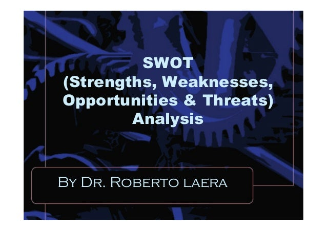 • The SWOT Analysis framework is a very important and useful tool to use in marketing Management and other business applic...