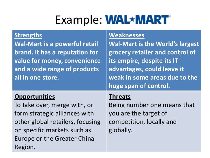 an in depth analysis of wal mart stores
