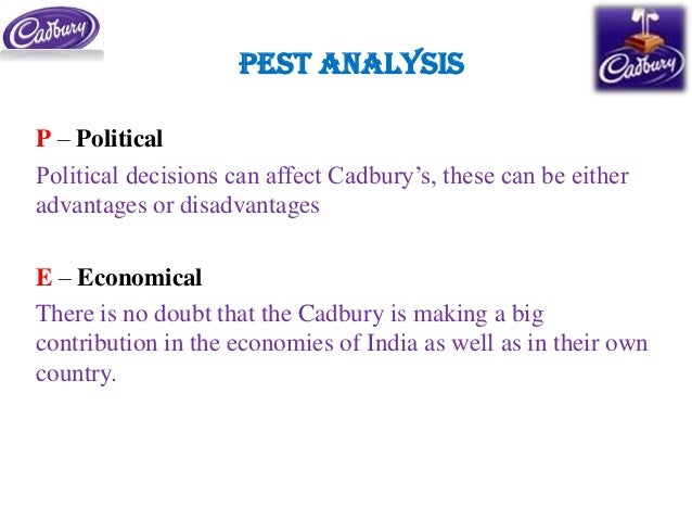 step analysis for cadburys in india marketing essay Value chain analysis espouses three roles for marketing in a global competitive strategy  as have cadbury and nestle  typical examples exist in all countries.